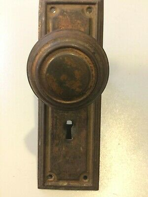 sm mission craftsman bungalow doorknob arts and crafts antique copper