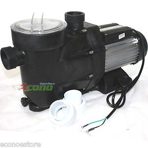 2 5hp Swimming Pool Spa Filter Water Pump 1850w 220v Motor