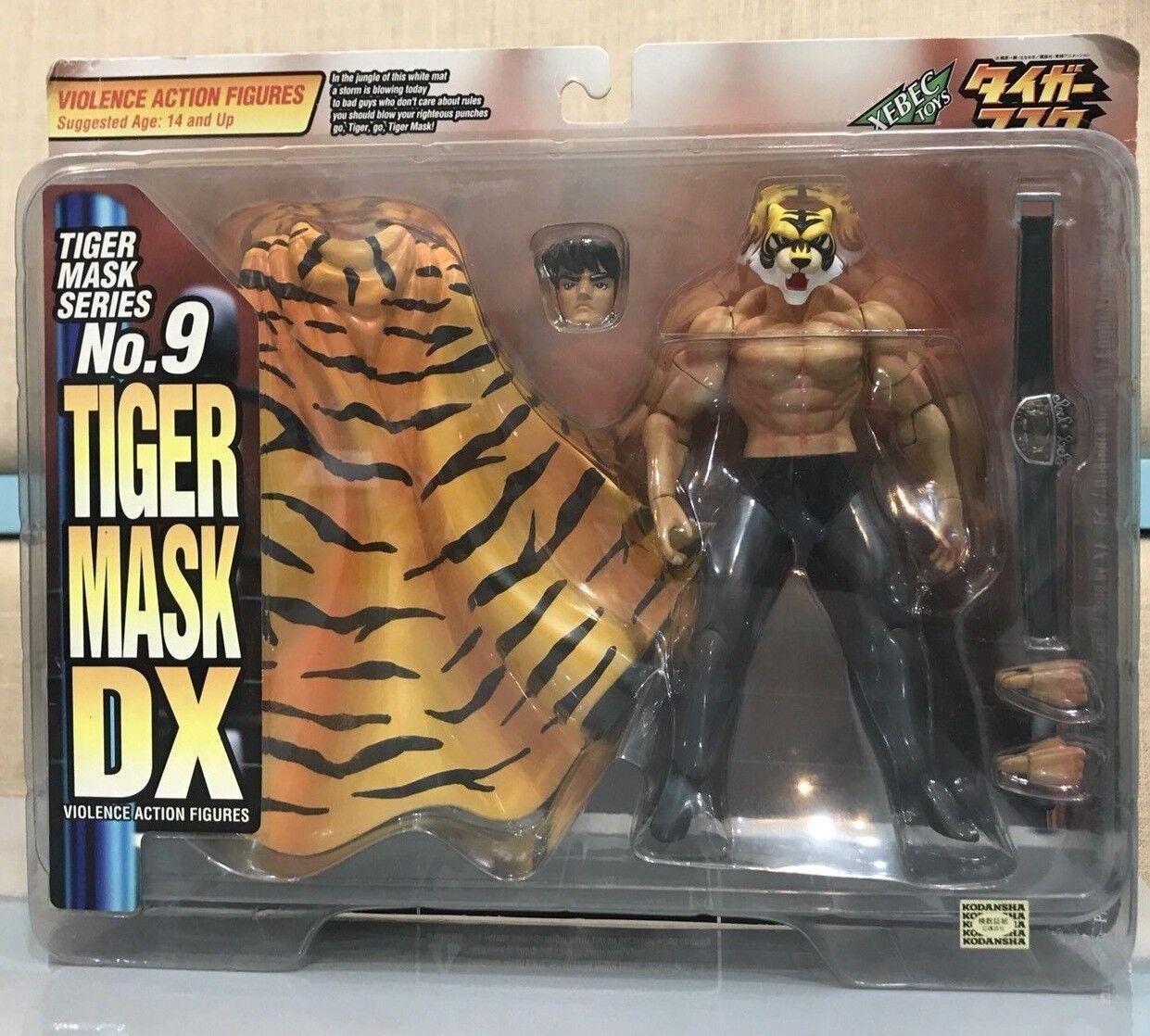Rare KAIYODO Violence Action Figures Tiger Mask D X Tiger Mask Series No.9