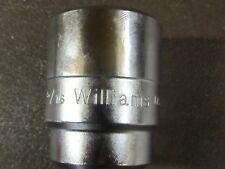 Williams H 1242 Standard Socket34d12pt1 516