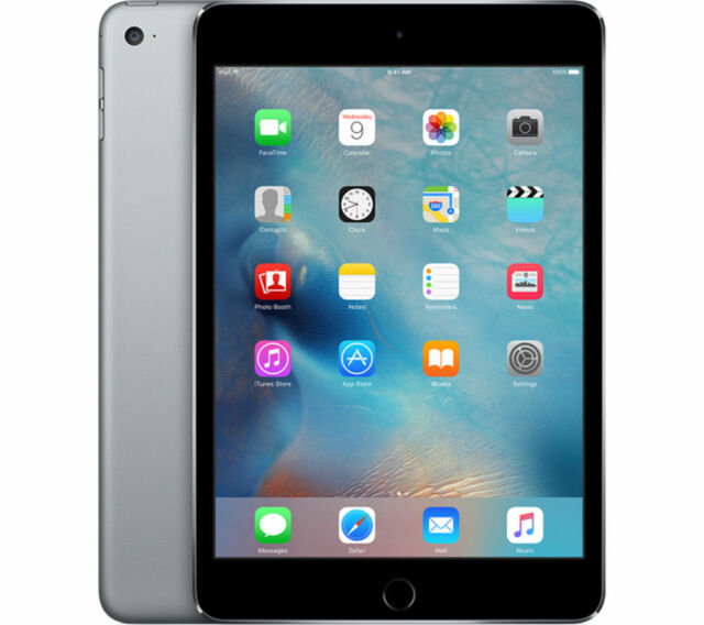New Apple iPad mini 4 128GB, Wi-Fi, 7.9in - Space Gray, Gold or Silver