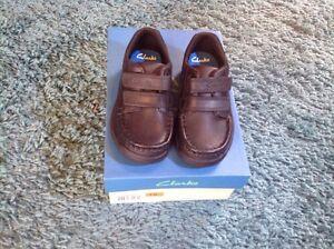 Lovely Boys Clarks School Shoes Size 7