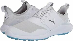 Puma-Mens-192225-Fabric-Low-Top-Lace-Up-Running-Sneaker-Silver-Size-12-0-PAJ8