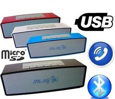Home Speakers & Subwoofers Buy Cheap Cassa Bluetooth Wireless Vivavoce Cellulare Portatile Sd Speaker Altoparlante636 Complete Range Of Articles
