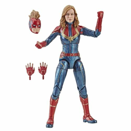 Hot Marvel Legends Captain Marvel Action Figure The Avengers Cos Model Toys 6/'/'