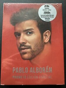 Pablo Alborán Prometo Edicion Especial 2 Cd S 2 Dvd S Box Set Spain Import New 190295524999 Ebay