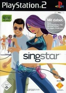 Ps2-Sony-PlayStation-2-juego-SingStar-ingles-con-embalaje-original