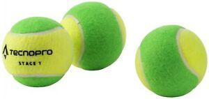 Tecnopro-Children-Tennis-Balls-3-Piece-Methodology-Balls-Softballs-Balls