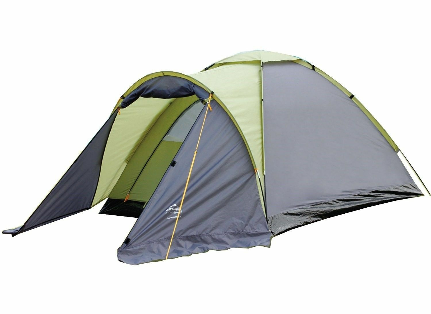 Explorer Langeland 3 Pers. Dome Tent Camping Tent Igloo Festival Tent 1000mm Ws