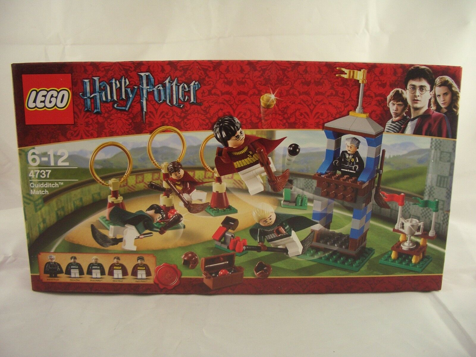 LEGO Harry Potter 4737 Quidditch Match New Sealed