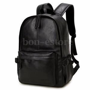 Image is loading Men-039-s-Vintage-Leather-Backpack-Rucksack-Laptop- b1e803e0781f2