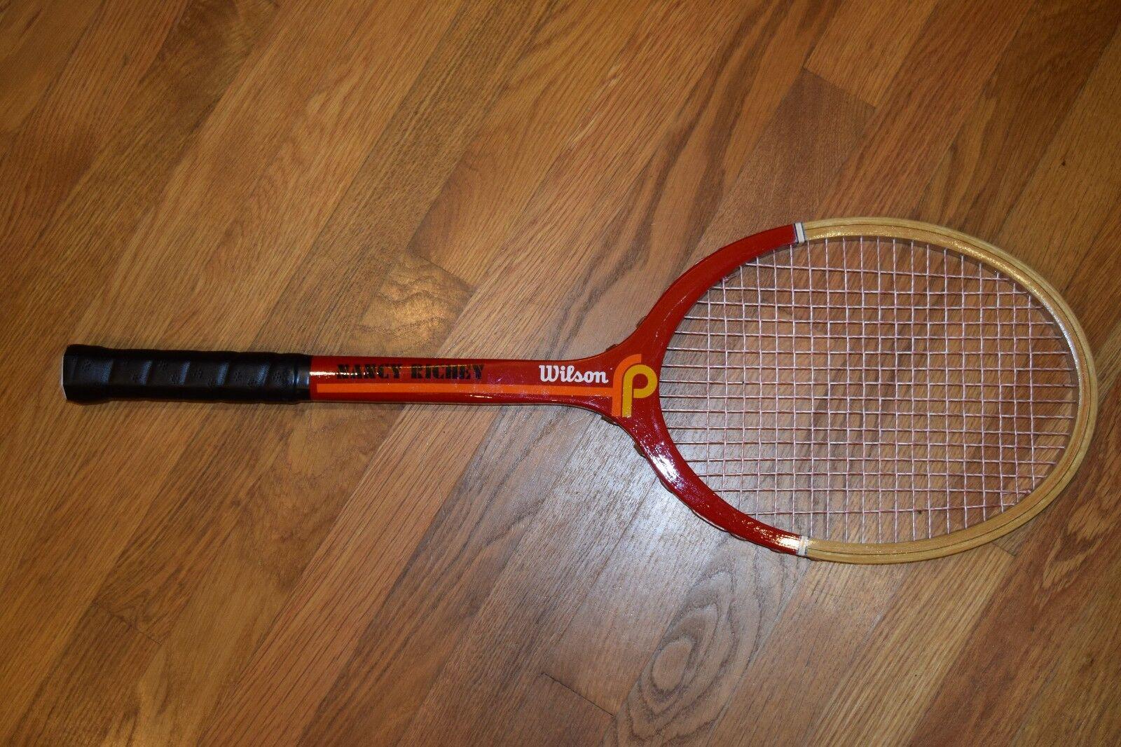 NOS NOS NOS Vintage Nancy Richey Wilson Racquet fefc25