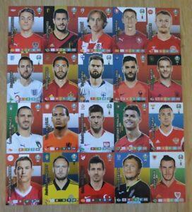 Panini-Adrenalyn-XL-Uefa-Euro-EM-2020-alle-20-Captain-Karten-komplett