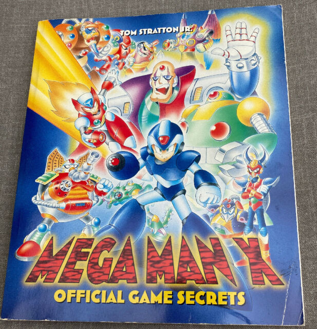 Mega Man X Official Game Secrets Prima Strategy Guide Tom Stratton Nintendo SNES