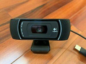 Logitech C910 Karl Zeiss Glass 1080p Usb Web Cam 97855067296 Ebay