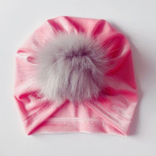 Baby Bandana Turban Head Scarf Beanie Cap Hat Cotton Headwear For Boy Girls Kids