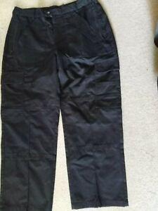 Ex-Police-Combat-Cargo-Trousers-Size-34S-waist-74cm-inside-leg-Excellent