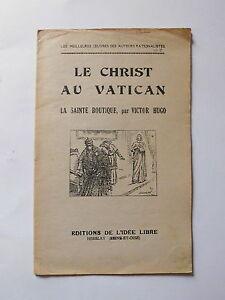 Cristo-del-Vaticano-el-Ste-Tiendas-Victor-HUGO-Idea-Libre-1931-Armangeol