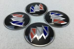 4pcs 65mm Wheel center Hub Sticker Cover Caps Car Logo Emblem Fit for Buick