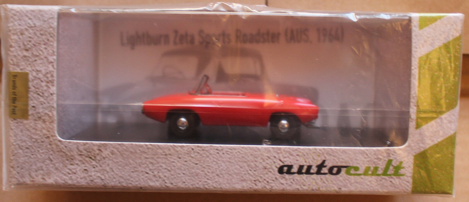 Autocult 1 43  02005 lightburn zeta - sport von 1961