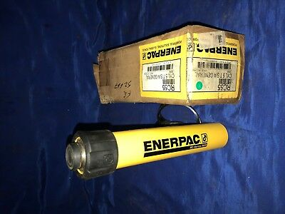 Single Port 5 Stroke Enerpac RC-55 Single-Acting Alloy Steel Hydraulic Cylinder with 5 Ton Capacity