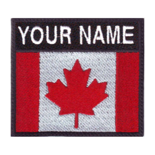 Canada Custom Badge Embroidered Patch