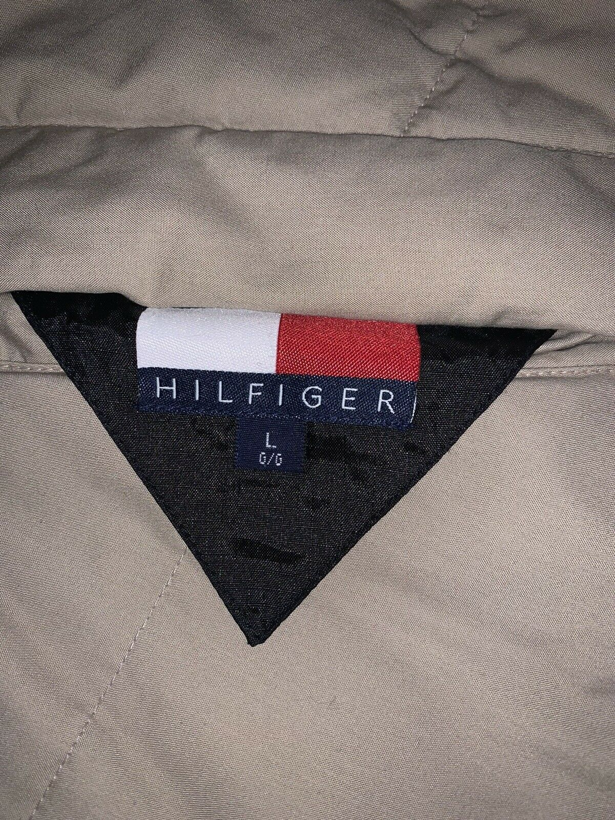 RARE Vintage Men's TOMMY HILFIGER Reversible Puff… - image 2