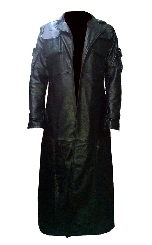 The Punisher Frank Castle Jane Leder Trench Coat   All SIzes