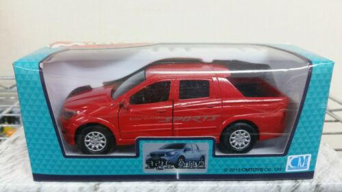 SsangYong Motors Koreando Sports Pick-up Diecast RED color SUV Miniature