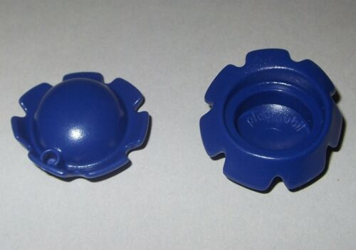 Zackenhut 14327 2x Hut mit 1 Loch blau Mütze