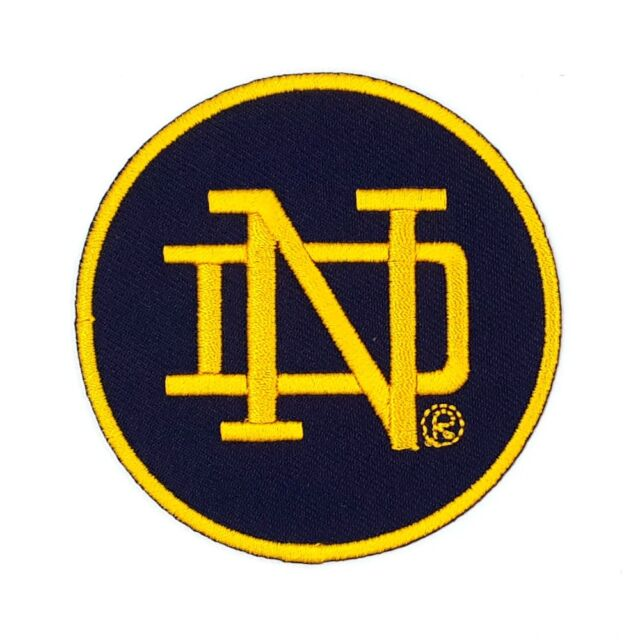 Notre dame fighting irish new era ncaa varsity patch 9twenty cap.