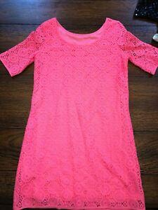 Lilly-Pulitzer-XL-Pink-Dress-Rarely-Worn