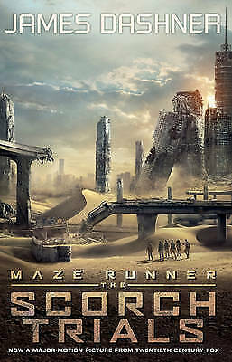 1 of 1 - The Scorch Trials - Movie by James Dashner (Paperback, 2015)