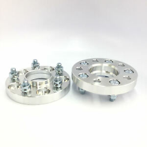 2pc-25mm-1-034-Wheel-Spacers-5x108-Hubcentric-w-Lip-65-1mm-Hub-Volvo