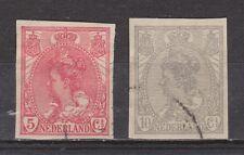 NVPH Nederland Netherlands 82 - 83 used 1923 Wilhelmina Pays Bas