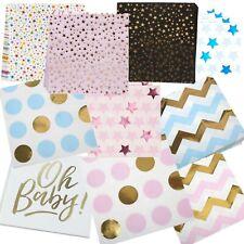 20 Elephant Baby Shower Christening Paper Napkins Serviettes Tableware Pink