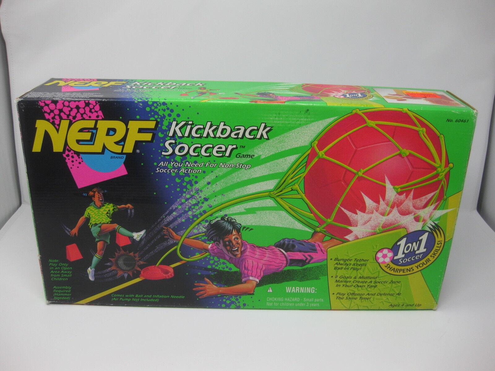 Nerf Kickback Soccer - 1995 Vintage Unused New New New - Missing one cone 8ba18f