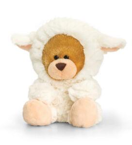 Easter Lamb-doux En Peluche Cadeau Pour Pâques Fluffy Teddy Bear - 14 Cm-afficher Le Titre D'origine