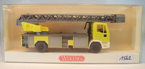 619 02 Iveco DLK 23-12 Drehleiter Interschutz Feuerwehr OVP#1562 Wiking 1//87 Nr