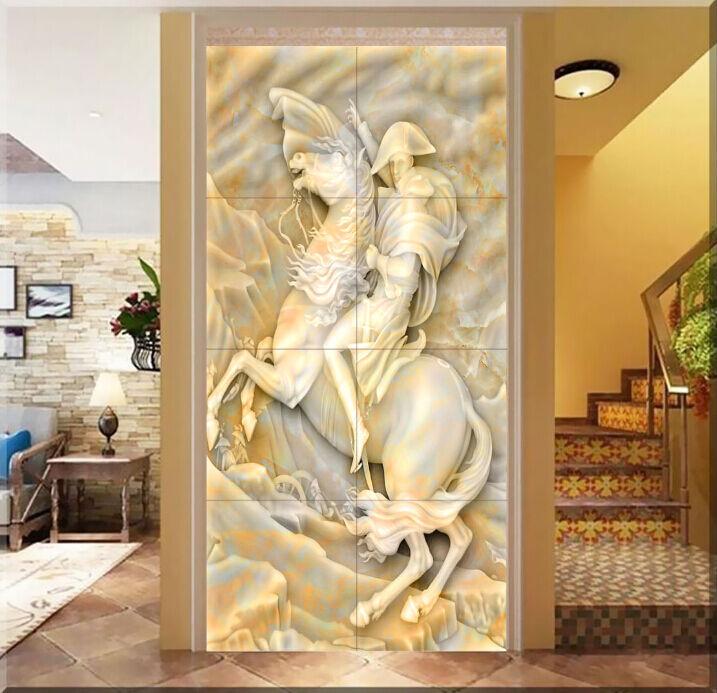 3D Stattliche Ritter 2303 Fototapeten Wandbild Fototapete BildTapete FamilieDE