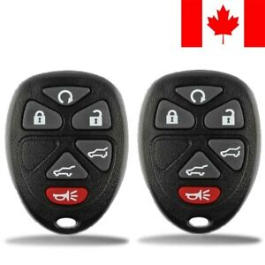 2x-New-Replacement-Keyless-Entry-Remote-Control-Key-Fob-For-GMC-Chevy-Cadillac