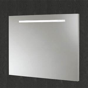 SPECCHIO BAGNO RETROILLUMINATO LUCE A LED specchiera 3W 5W 6W 8W 10W ...