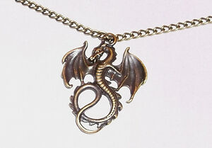 Dragon-Necklace-Bronze-Necklace-and-Pendant
