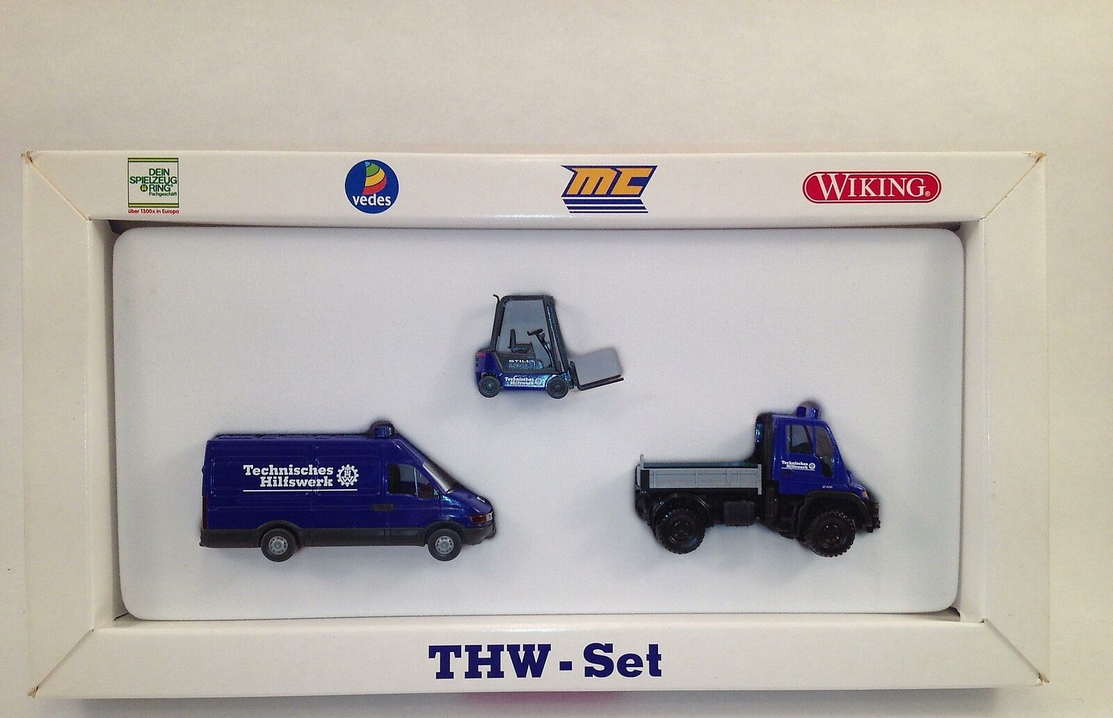 Wiking 99023, Special Set THW, mc-exclusive, new OVP