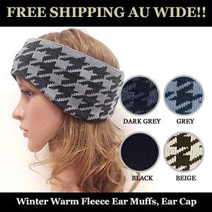 Winter-Warm-Fleece-Ear-Muffs-Ear-Cap-Ski-Cycling-Earlap-FREE-SHIPPING-AU-WIDE