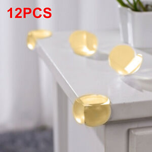 12x Kids Safety Soft PVC Desk Table Corner Cushions Guards Protectors HOT 711005759724
