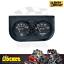 thumbnail 1 - Auto Meter Auto Gage 2-1/16 Oil Pressure & Water Temp Gauge - AU2345