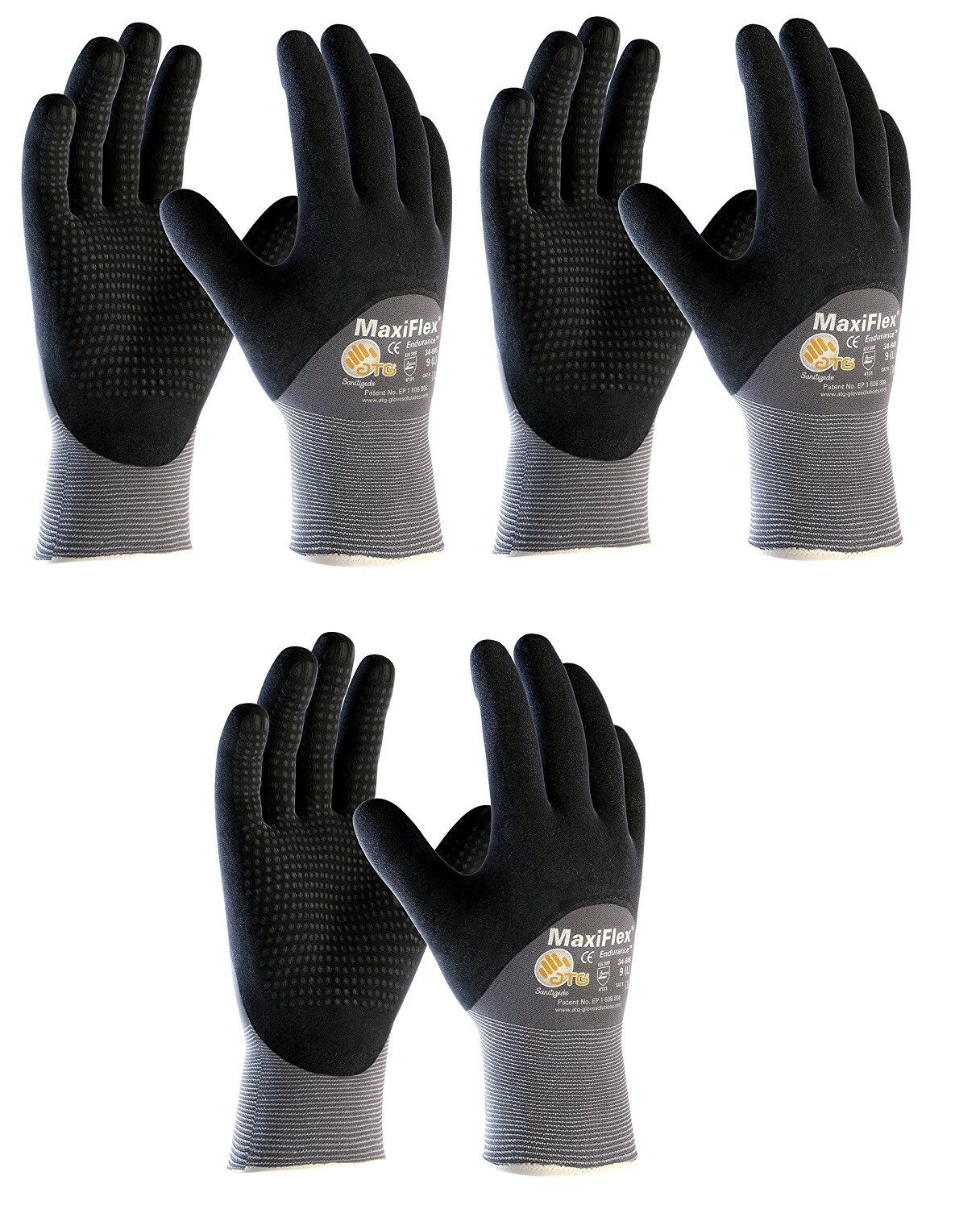 Read Description MaxiFlex Elite 34-274 Nitrile Foam Palm Coated Work gloves