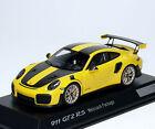 Porsche 911 GT2 RS 991 2017 gelb yellow carbon Spark 1:43 dealer WAP0201520J