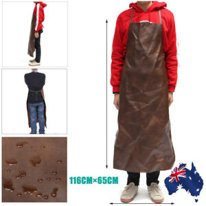 Leather-Apron-Equipment-Waterproof-Washable-Heat-Insulation-Kitchen-Cooking-Chef